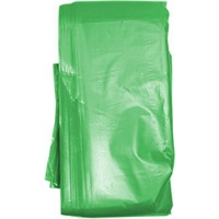 Click for a bigger picture.Refuse Sacks - Green 18x29x39 inch 10kg 200 per case